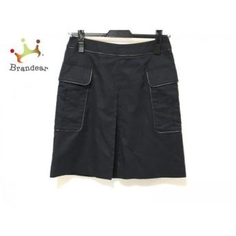 トゥモローランド スカート サイズ36 S レディース 美品 黒×ダークブラウン collection スペシャル特価 20190307