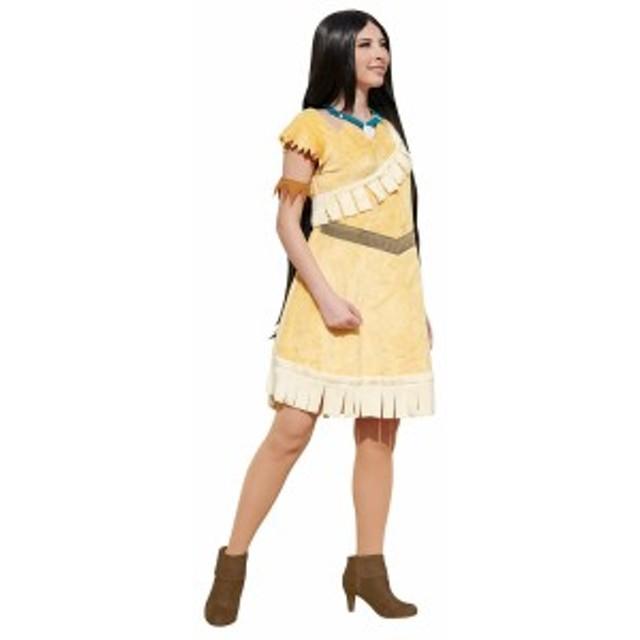 ルービーズ 大人用ポカホンタス ディズニー DISNEY ハロウィン レディース ハロウィン 仮装 衣装 コスチューム