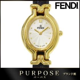 フェンディ FENDI 640L レディース 腕時計 オーバル 替えベルト シルバー 文字盤 クォーツ ウォッチ