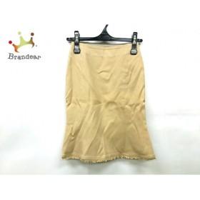 マテリア MATERIA スカート サイズ36 S レディース 美品 ベージュ               スペシャル特価 20191028