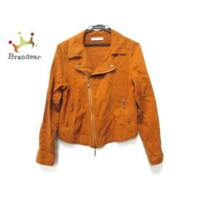 ガリャルダガランテ GALLARDAGALANTE ライダースジャケット サイズF レディース 美品 ブラウン             スペシャル特価 20190216
