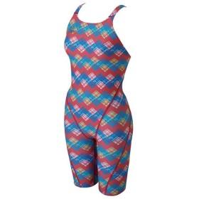 ミズノ 水泳 競泳水着 女性用 エクサースーツ ハーフスーツ ピンク Mizuno N2MG726064