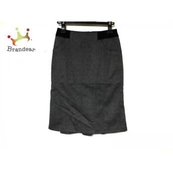 エポカ EPOCA スカート サイズ38 M レディース 美品 ダークグレー×黒 スペシャル特価 20190517