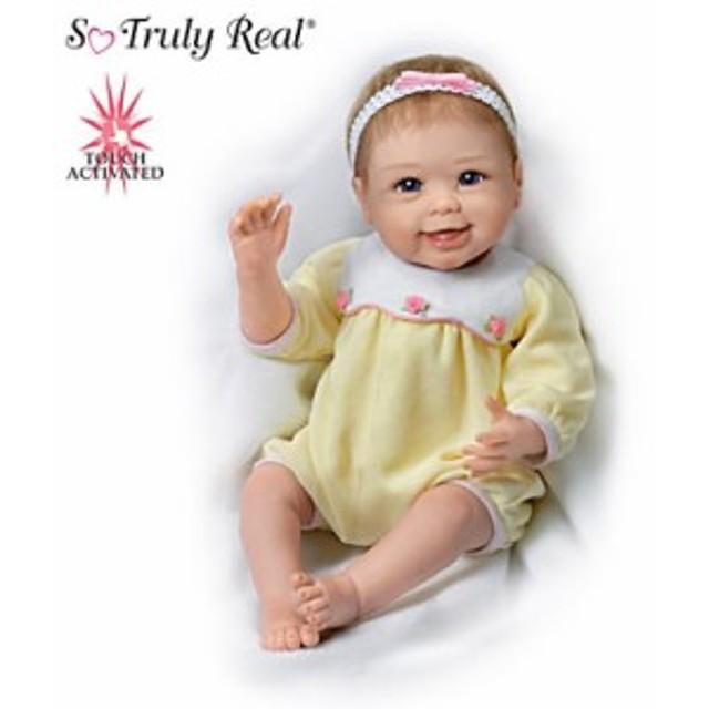 【アシュトンドレイク】Linda Murray Lifelike Interactive Baby Doll Waves /赤ちゃん人形/ベビードール