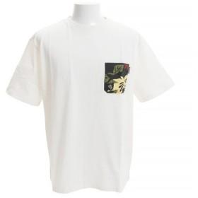 クリフメイヤー(KRIFF MAYER) ロハテコ 半袖ポケットTシャツ 1816600-3-WHT (Men's)