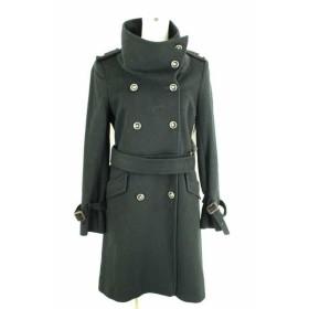 Rouge vif(ルージュ・ヴィフ) コート レディース サイズ1 カシミヤ混ロングコート 中古 ブランド古着バズストア 120917
