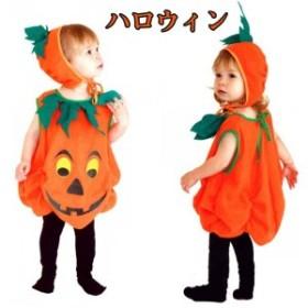 ハロウィン仮装/かぼちゃ コスプレ衣装/かぼちゃ衣装/ハロウィン コスチュームキッズ/ハロウィン 子供 cos cos-k wsc-170724-700