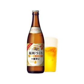 ビール KIRIN キリン一番搾り 福岡づくり 福岡工場限定醸造 500ml 中瓶 (20本入り)