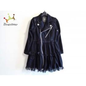 アルゴンキン ALGONQUINS コート サイズ3 L レディース 黒 レース/春・秋物     スペシャル特価 20190305
