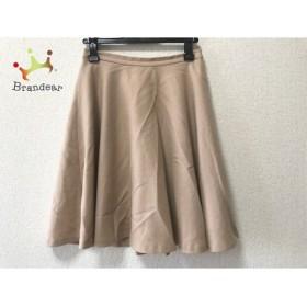 イエナ スローブ IENA SLOBE スカート サイズS36 レディース 美品 ベージュ 新着 20190829