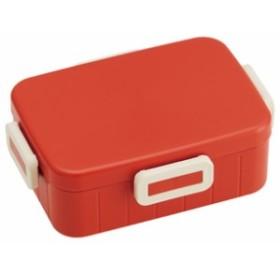 スケーター/YZFL7/食洗機対応4点ロックランチボックス【レトロフレンチカラー オレンジレッド】//お弁当箱