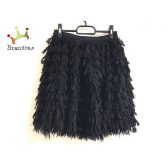 ルシェルブルー LE CIEL BLEU スカート サイズF レディース 黒 スペシャル特価 20190802