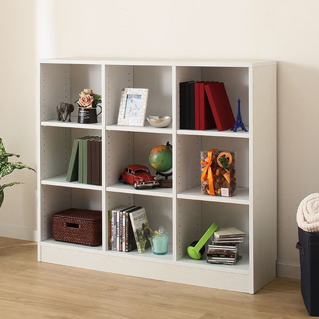 書棚(サラ 10114 WH) ニトリ 『玄関先迄納品』 『1年保証』