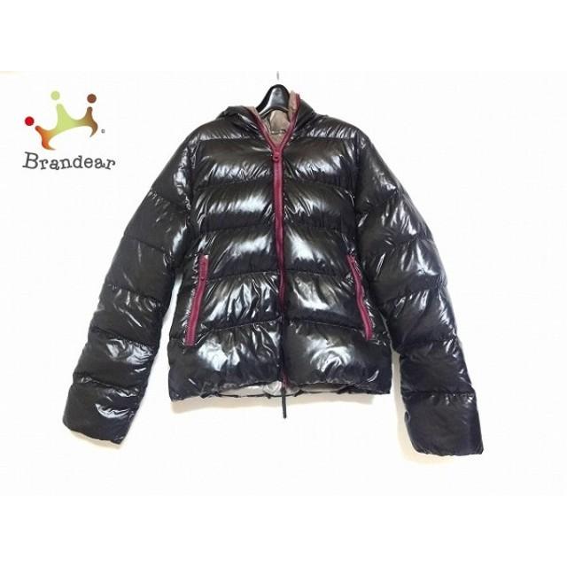 デュベティカ DUVETICA ダウンジャケット サイズ40 M レディース Thia 黒×パープル 冬物      値下げ 20190919