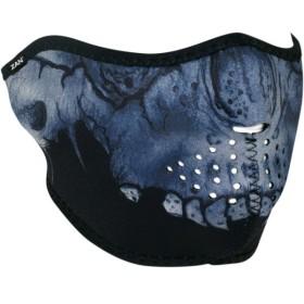 【USA在庫あり】 2503-0310 ザンヘッドギア ZAN Headgear ハーフフェイスマスク ミッドナイト スカル JP店