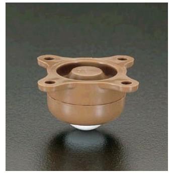 【メーカー在庫あり】 000012025323 エスコ ESCO 53.0x34.5mm ボールキャスター プラスティック製 JP店