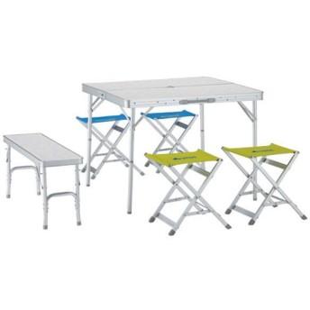 ロゴス ベンチテーブルセット6 メイプル