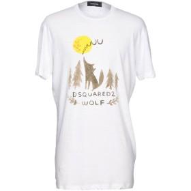 《セール開催中》DSQUARED2 メンズ T シャツ ホワイト XS 100% コットン