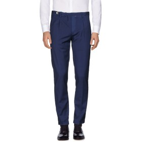 《期間限定 セール開催中》GTA IL PANTALONE メンズ パンツ ブルー 46 ウール 100%