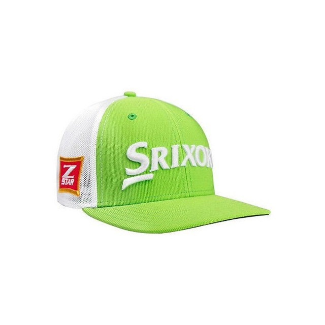 514fa37ae8d ゴルフ バイザー 帽子 スリクソン Srixon 6P Trucker Hat グリーン メンズ ゴルフ hat