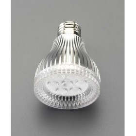 000012261938 エスコ ESCO AC100V/7.5W/E26 電球/LED(ビーム形/電球色) JP店