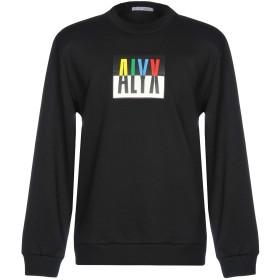 《セール開催中》ALYX メンズ スウェットシャツ ブラック XXS 50% コットン 50% ポリエステル