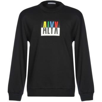 《9/20まで! 限定セール開催中》1017 ALYX 9SM メンズ スウェットシャツ ブラック XXS 50% コットン 50% ポリエステル