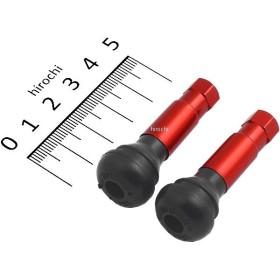 【メーカー在庫あり】 10011058 エナジープライス Energy Price アルミチューブレスバルブ TR-414 レッド JP店
