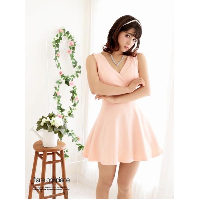 b82853c530db5 ワンピース - Ryuyu バッククロスカシュクールAラインキャバクラドレス おりもあい 着用キャバドレス