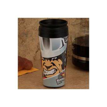 ウィンクラフト ファンウェア 記念品 メモリアルグッズ スーベニア Calgary Roughnecks 16oz. プラスチック トラベル Mug