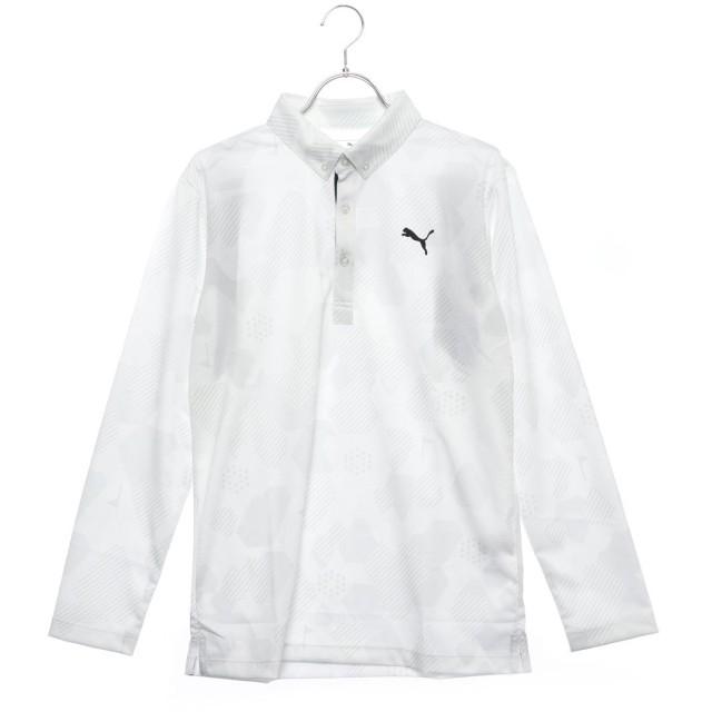 プーマ PUMA メンズ ゴルフ 長袖シャツ ゴルフ カモ LS ポロシャツ 923771