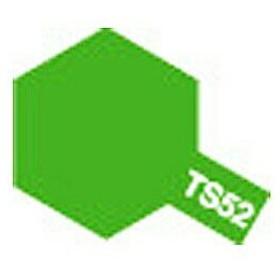 タミヤ タミヤカラースプレー TS52キャンディーライムグリーン※ご注文後のご手配となります。