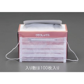 【メーカー在庫あり】 000012229001 エスコ ESCO マスク 使い捨て/100枚 JP店
