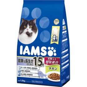マースジャパン アイムス 15歳以上用 健康な長生きのために チキン 1.5kg