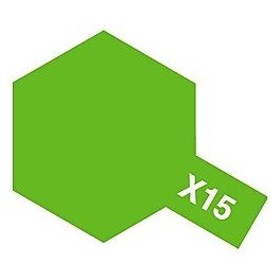 タミヤ タミヤカラー アクリルミニX15ライトグリーン (光沢)※ご注文後のご手配となります。