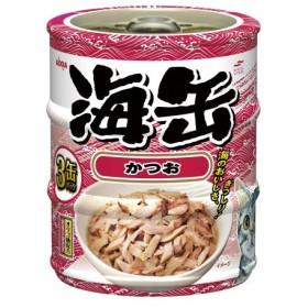 アイシア 海缶ミニ3P かつお 60g×3缶パック 1ケース24個セット