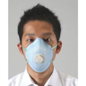 【メーカー在庫あり】 EA800MJ-124 エスコ ESCO [N 95] マスク(排気弁付/防塵用/1枚) JP店