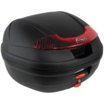 【メーカー在庫あり】 66788 ジビ GIVI モノロックケース 未塗装黒 (E340 VISIONシリーズ) JP店