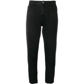 Current/Elliott cropped slim jeans - ブラック