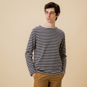 AIGLE メンズ メンズ 吸水速乾 バスク ベーシック ロングTシャツ ZTH027J ASPHALTE (007) Tシャツ