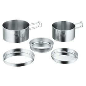 [在庫処分特価] キャンピング食器5点セット(箱入) M7520 パール金属株式会社 バーベキュー BBQ レジャー アウトドア キャンプ