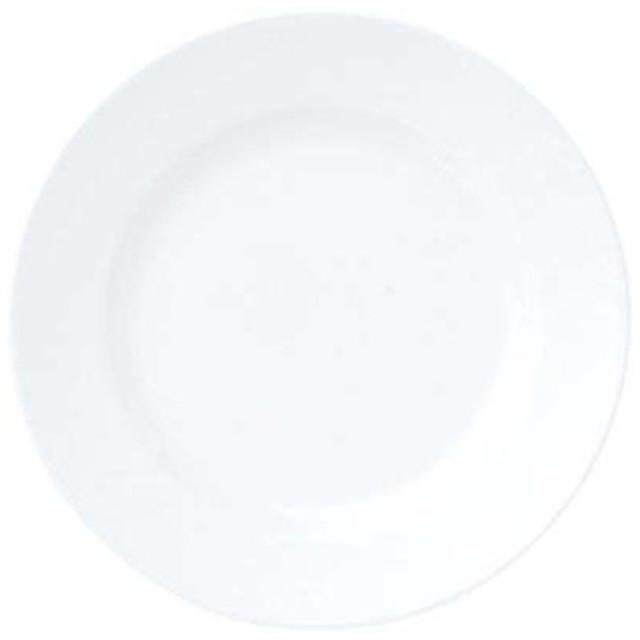 EBM-7628380 おぎそチャイナ ディナー皿 28cm 3201 (EBM7628380)
