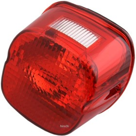 【USA在庫あり】 2010-0782 DRAG テールライト レンズ レイダウン 上側ナンバー灯付 03年後期以降 赤 JP店