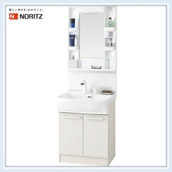 ノーリツ 洗面化粧台 LT洗面間口600 洗髪式シャワー水栓 (LSBB-60EWN1B+LSBM-6SS) 送料無料
