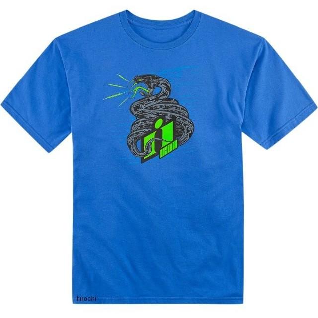 3030-11734 アイコン ICON Tシャツ VITRIOL ロイヤルブルー Mサイズ JP店