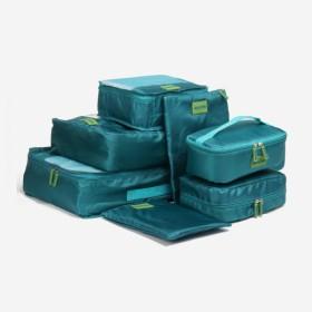 MonTrue トラベルポーチ 7点セット 大容量 旅行に便利収納ポーチ 衣類収納ケース