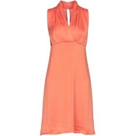《9/20まで! 限定セール開催中》ST-MARTINS レディース ミニワンピース&ドレス オレンジ 36 ポリエステル 100%