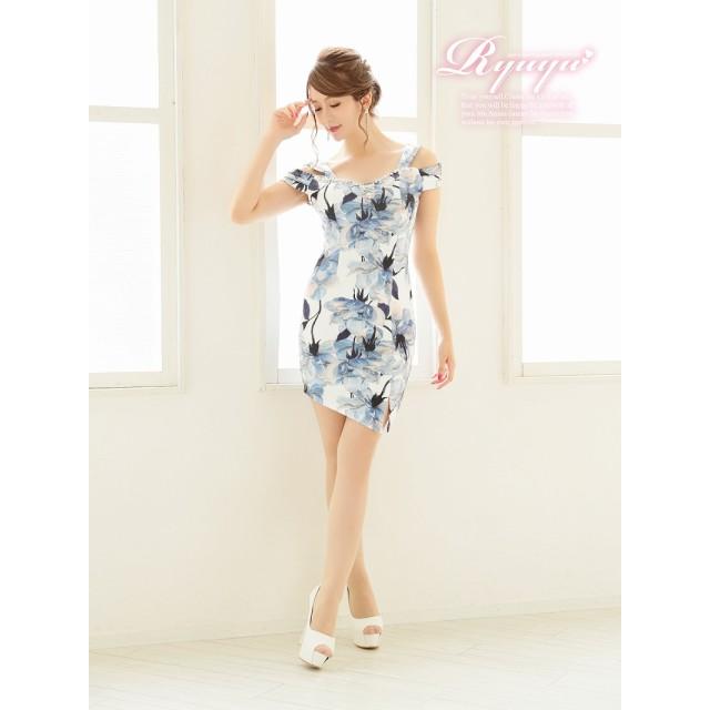 1f27f0625d48d ドレス - Ryuyu キャバ ドレス ドレス キャバ キャバドレス キャバクラ ミニドレス パーティードレス RyuyuChick 花