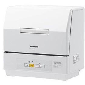 パナソニック 食器洗い乾燥機 「プチ食洗」(3人用・食器点数18点) NP-TCM4-W ホワイト (NPTCM4W) 【お届け日指定不可】 ※設置券別売り