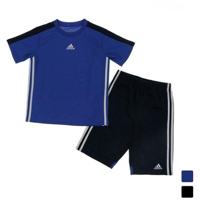 アディダス ジュニア(キッズ・子供) Tシャツ ハーフパンツセット BCLIMALITET シャツ上下セット (ETP07) adidas